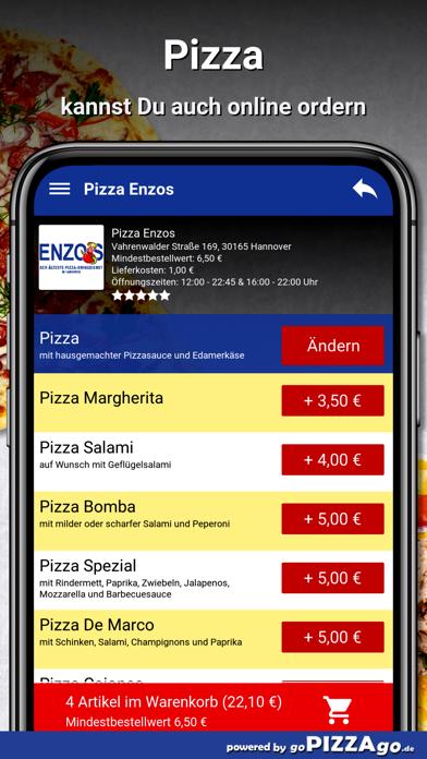 Pizza Enzos Hannover screenshot 5
