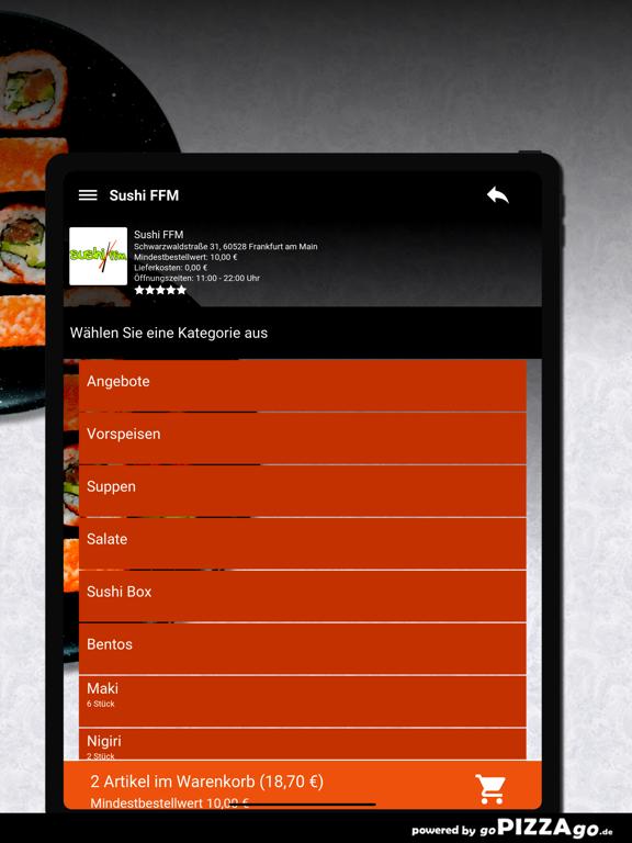 Sushi FFM Frankfurt am Main screenshot 8