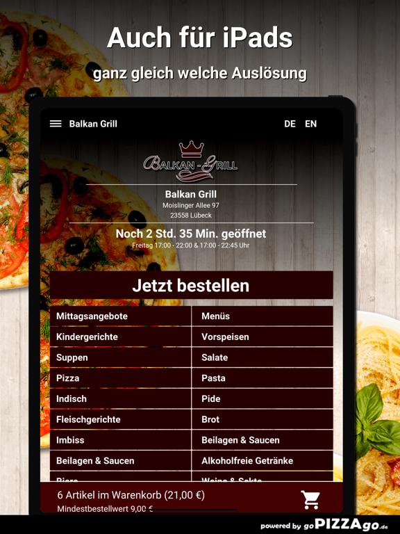 Balkan-Grill Lübeck screenshot 7