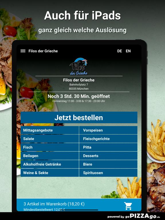 Filos der Grieche München screenshot 8