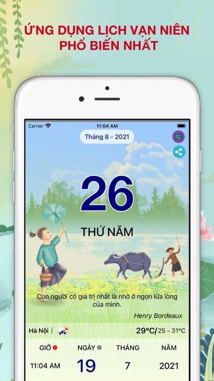 Lịch Vạn Niên 2022 - Lịch Việt screenshot-0