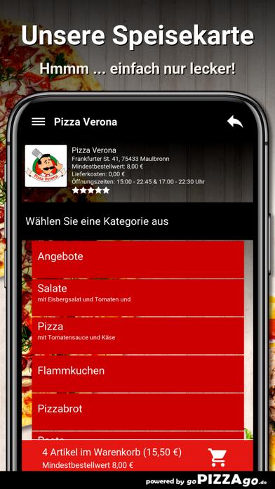 Pizza Verona Maulbronn screenshot 4
