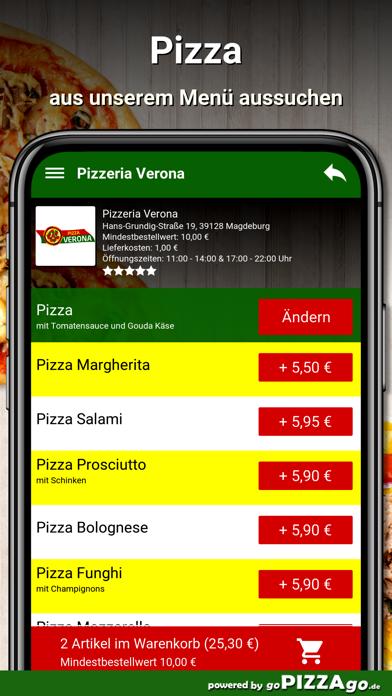 Pizzeria Verona Magdeburg screenshot 5