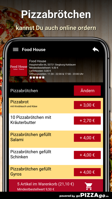 Food House Siegburg Kaldauen screenshot 3