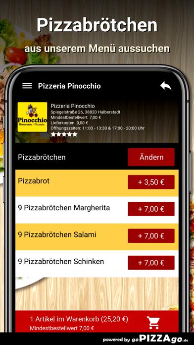 Pizzeria Pinocchio Halberstadt screenshot 5