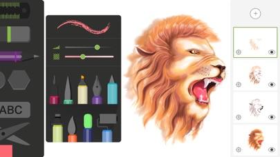 ドローイング デスク: 落書き・お絵描き・お絵かき アプリ ScreenShot0