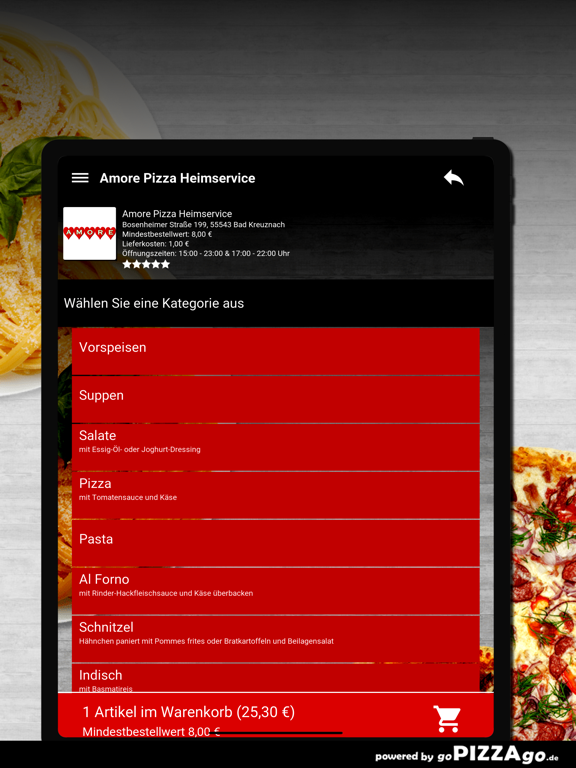 Amore Pizza Bad Kreuznach screenshot 8
