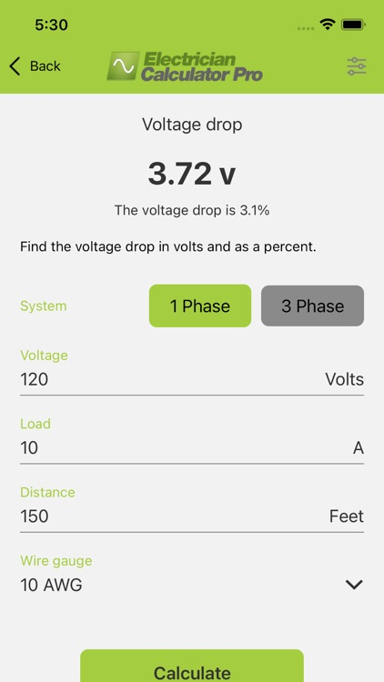Electrician Calculator Pro