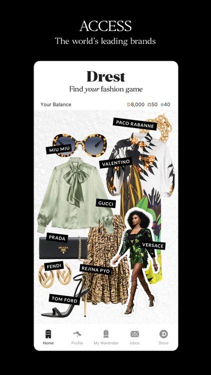 DREST: Fashion Styling Game screenshot-4