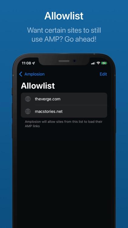 Amplosion: Redirect AMP Links screenshot-4