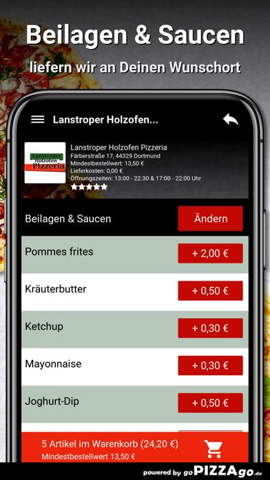 Lanstroper Pizza Dortmund screenshot 6