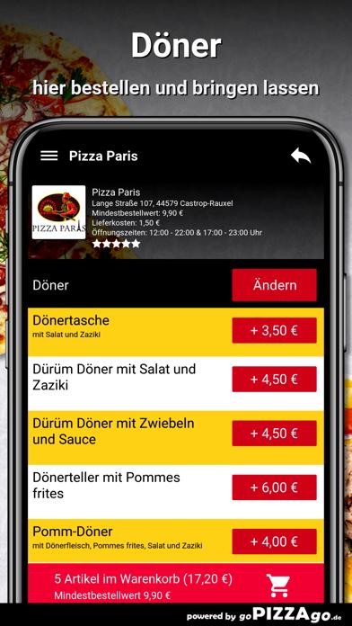 Pizza Paris Castrop-Rauxel screenshot 6