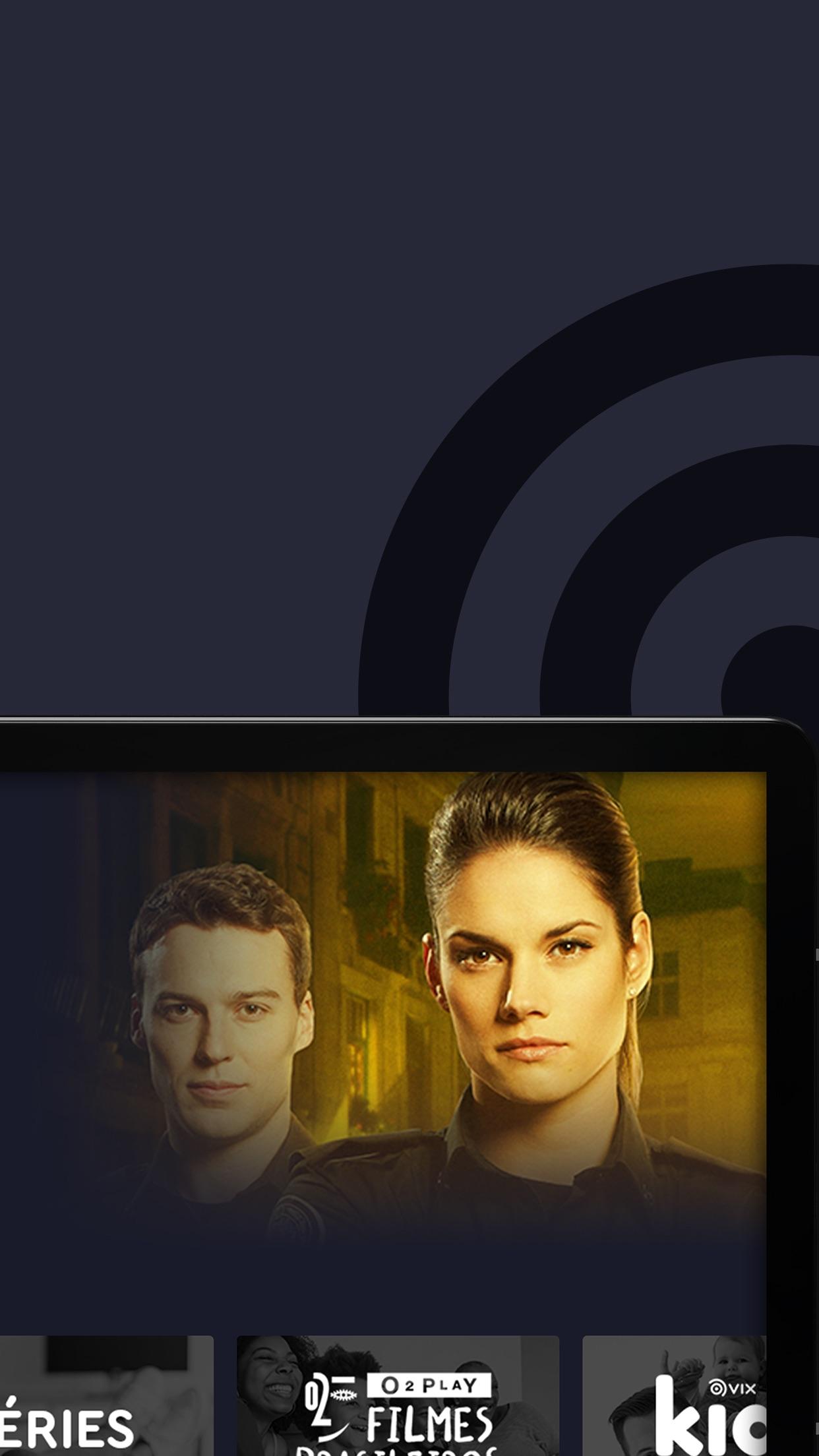 Screenshot do app VIX - Filmes e TV