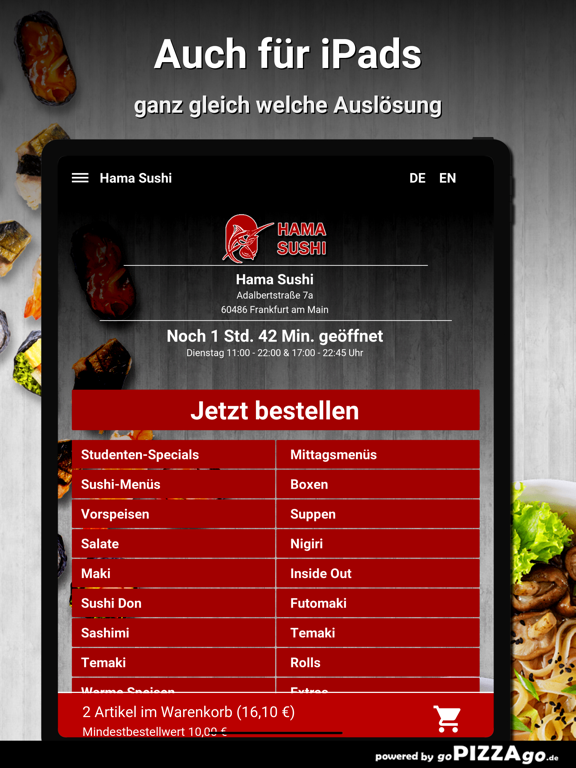 Hama Sushi Frankfurt am Main screenshot 7