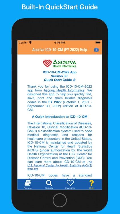Ascriva ICD-10-CM screenshot-8