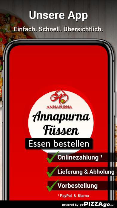 Annapurna Füssen screenshot 1