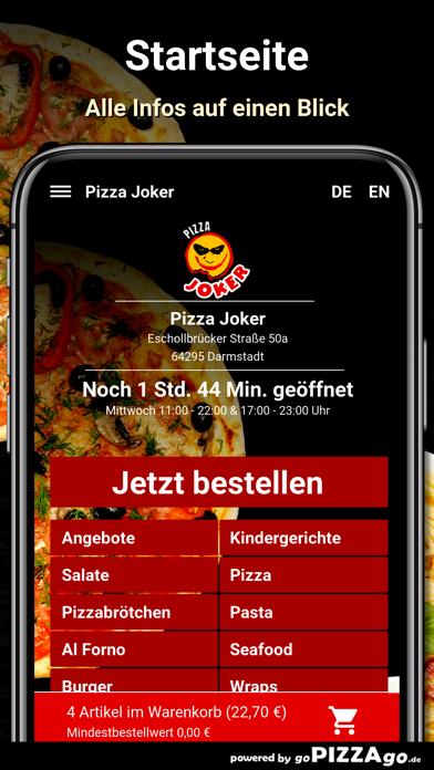 Pizza Joker Darmstadt screenshot 2