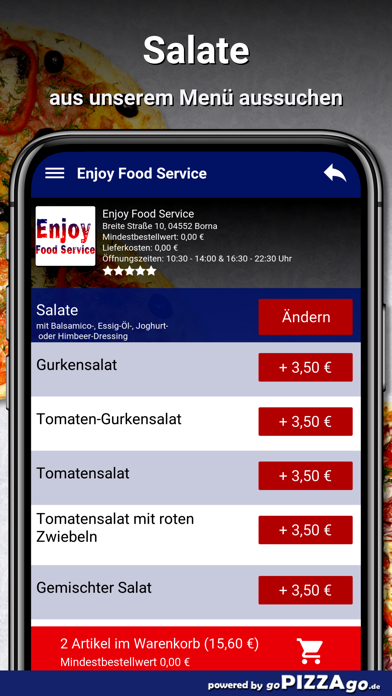 Enjoy Food Service Borna screenshot 5
