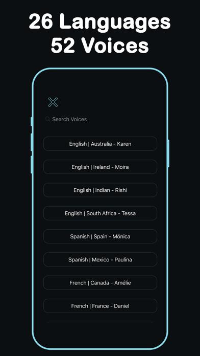 Listen - Text To Speech screenshot 7