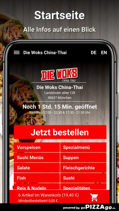 Die-Woks China-Thai München screenshot 2
