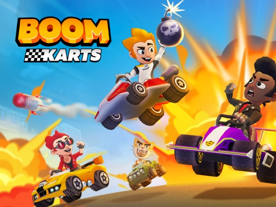 Boom Karts -Multiplayer Racing screenshot 12