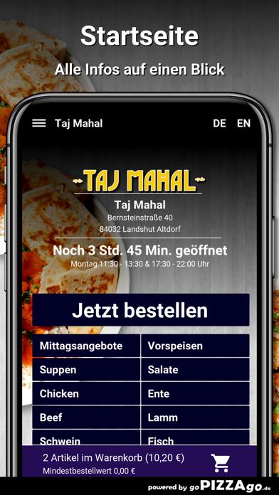 Taj Mahal Landshut Altdorf screenshot 2