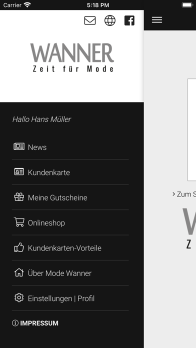 Mode Wanner screenshot 2
