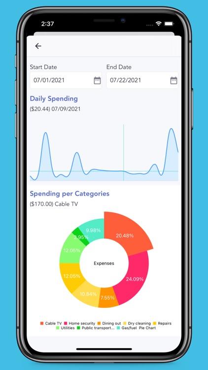 iSaveMoneyGo: Spending tracker screenshot-5