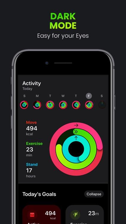FitnessView ∙ Activity Tracker screenshot-7