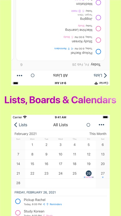 GoodTask - To Do List, Tasks screenshot-4