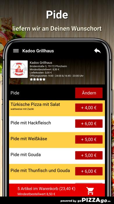 Kadoo Grillhaus Pforzheim screenshot 6