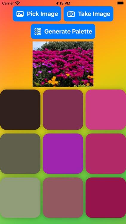 Paletter - Color Palettes Fast