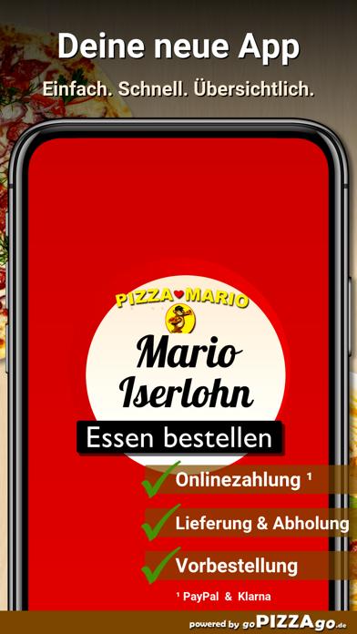 Pizza Mario Iserlohn screenshot 1