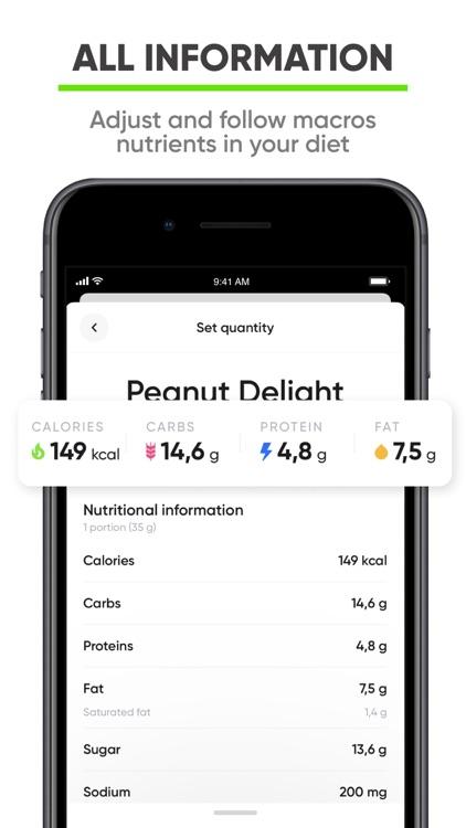 Nutrition Coach - Food tracker screenshot-3