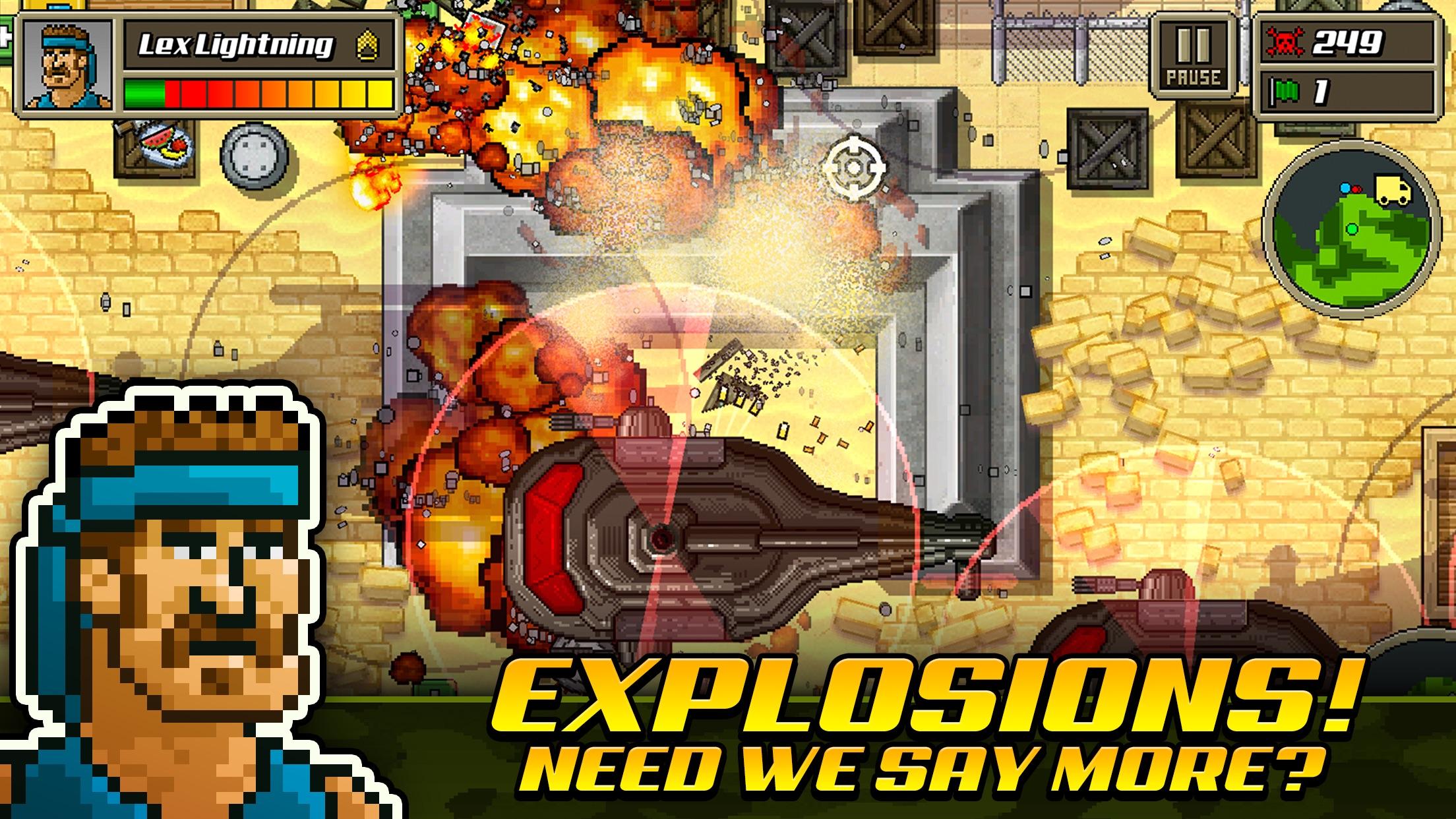 Screenshot do app Kick Ass Commandos