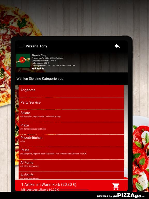 Pizzeria Tony Bottrop screenshot 8