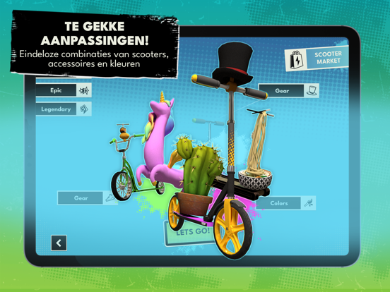Touchgrind Scooter iPad app afbeelding 4