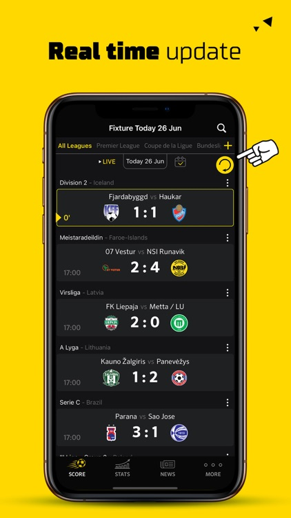 Live Score Football Scores screenshot-8