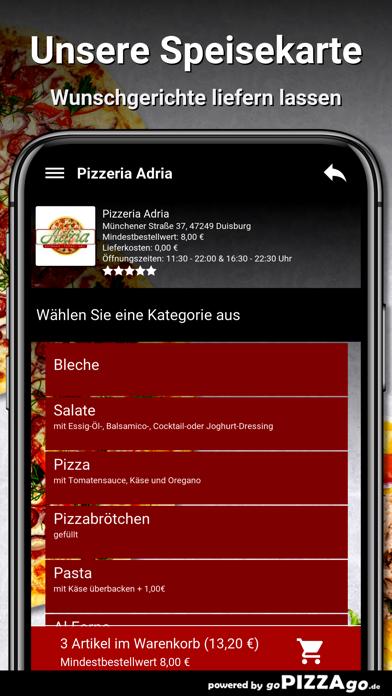 Pizzeria Adria Duisburg screenshot 4