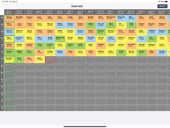 Fantasy Football Draft Kit '21 screenshot 9