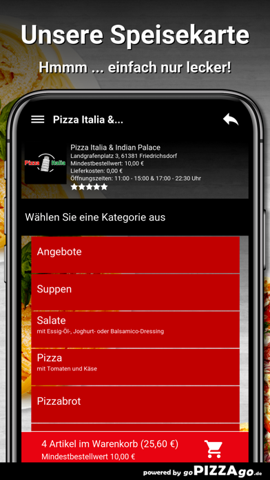 Pizza Italia & Indian Palace screenshot 4
