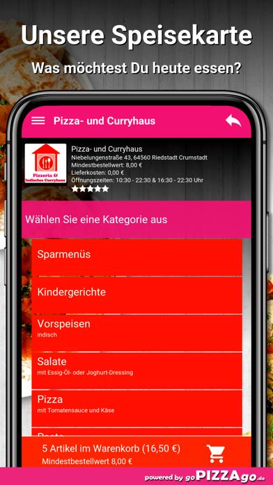 Pizza- und Curryhaus Riedstadt screenshot 4
