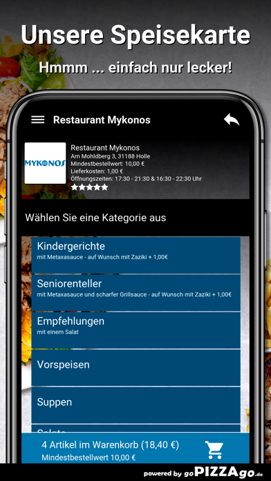 Restaurant Mykonos Holle screenshot 4