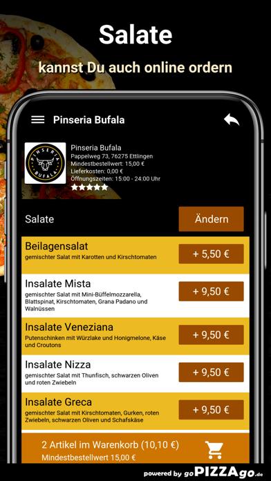 Pinseria Bufala Ettlingen screenshot 5
