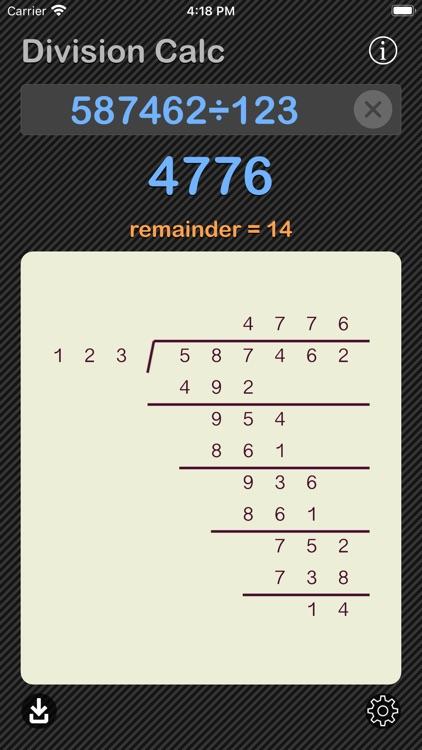 Division Calculator screenshot-9