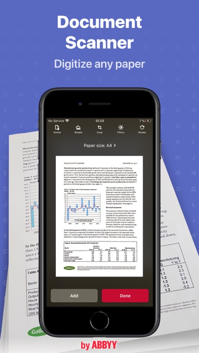 FineReader Pro: PDF Scanner Screenshots