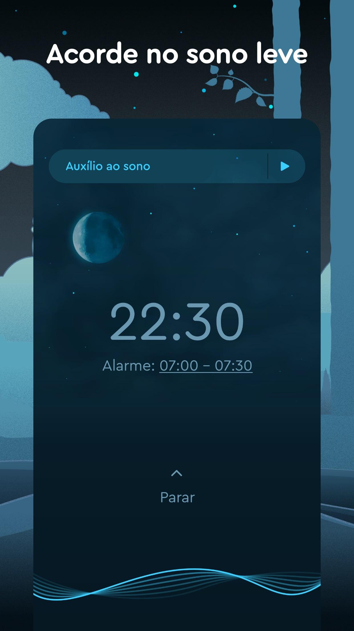 Screenshot do app Sleep Cycle - Sleep Tracker