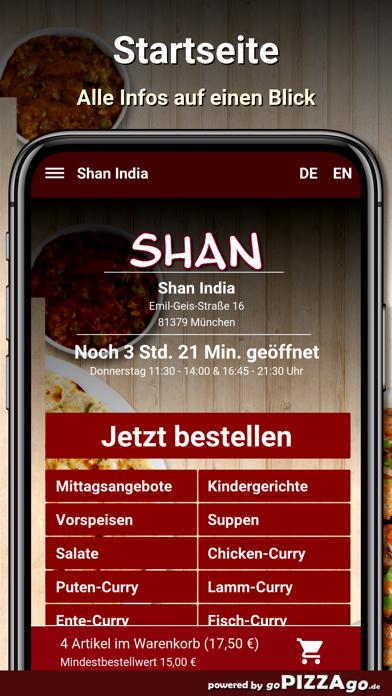 Shan India München screenshot 1