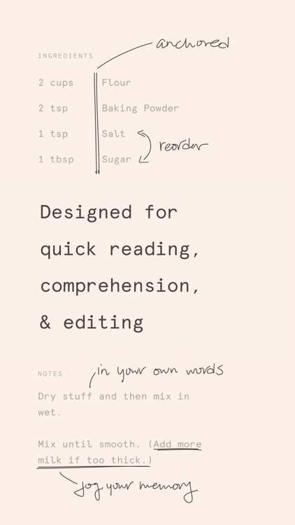 Mise: A minimalist recipe box screenshot-6