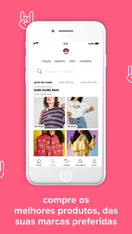 enjoei: comprar e vender roupa screenshot-4